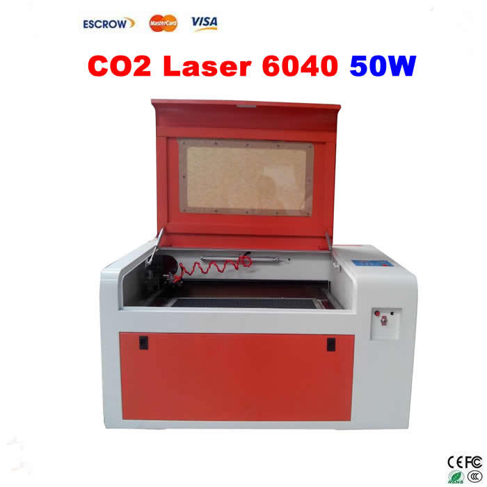 LY CO2 Laser 6040 Engraving Machine 50W tube, Laser Engraver co2 laser tube 50w 80cm co2 sealed laser tube laser machine part co2 laser tube