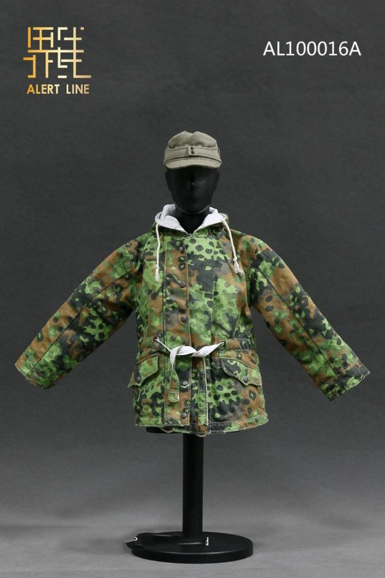 Dragon German grey scarf and Toque 1//6th scale toy accessory