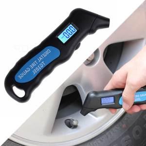 Image 1 - TG105 液晶デジタル車のトラックのタイヤタイヤ空気圧ゲージメーター圧力計計テスター高精度車のトラック