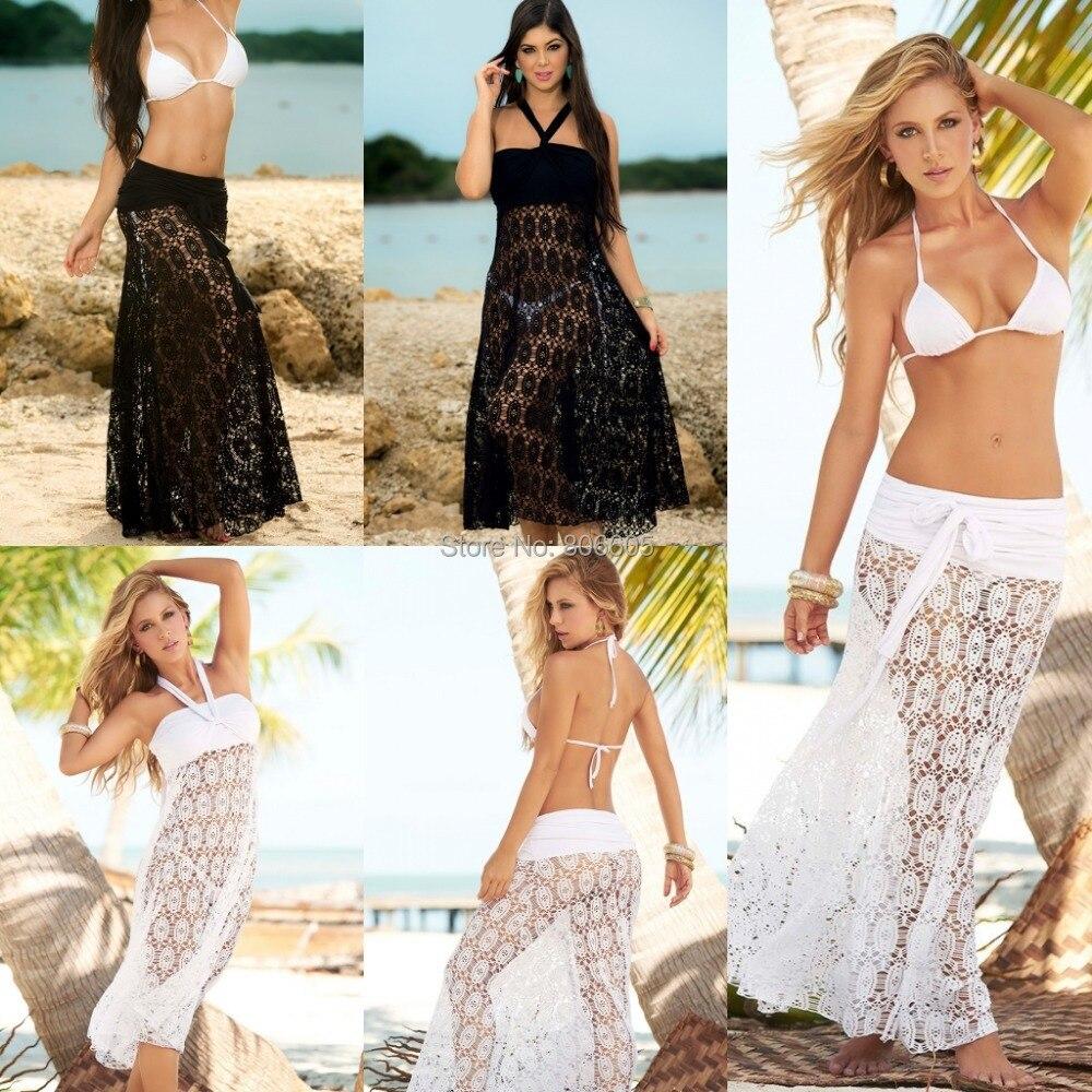 Sexy Women\'s Ladies Beach Dress Wear Casual Embroi...