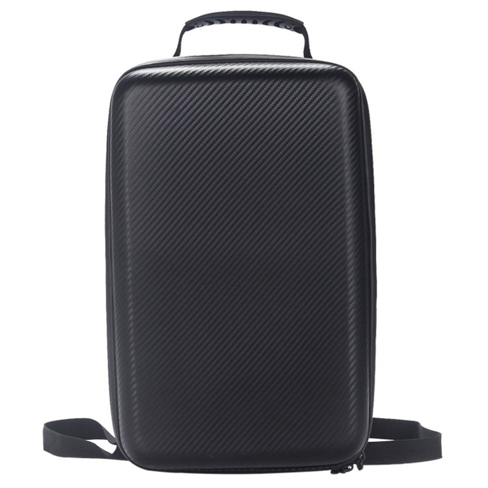 Waterproof Drone Storage Backpack Double Zippers Handheld Hard Shell Case Shockproof Breathable Shoulder Bag For DJI MAVIC AIR zippers double buckle canvas backpack