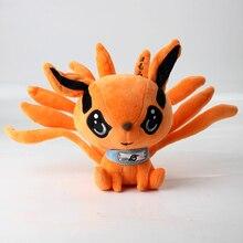17 см Наруто Шипуден, плюшевая игрушка Kurama Kyuubi Nine Tales Fox, мягкая набивная кукла