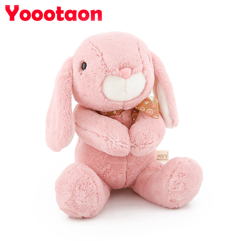 Kawaii Bunny rabbit plush kids toys for children,soft stuffed dolls high quality baby toy Girls Gift 1pc 16cm mini kawaii animal plush toy cute rabbit owl raccoon panda chicken dolls with foam partical kids gift wedding dolls