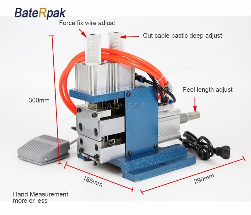DZ-3F BateRpak Pneumaatiline VERTICAL kaabli eemaldamismasin, traadi - Elektrilised tööriistad - Foto 5