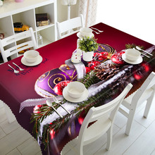 1pc Hot sale Butterfly edge Polyester Multi Functional Christmas Table Cloth for Party Picnic hotel Dining Tablecloths 90*150cm