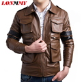 LONMMY Motorcycle leather jacket men coat Men Clothes casaco Slim mens leather coats jaqueta de couro spring jacket Suede