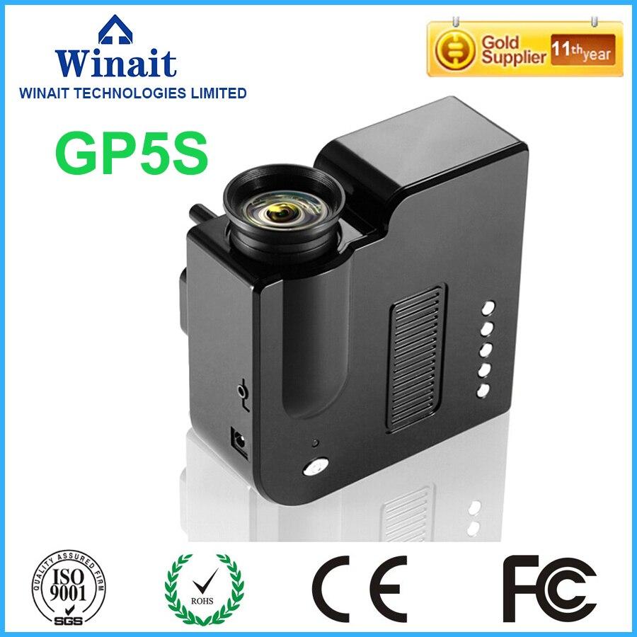 ФОТО GP5S Mini LED Projector Household HD Entertainment LED Mini Portable 1080P Home theater projecting camera Black&White