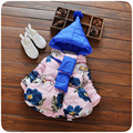 Girls Coats and Jackets  Floral Fashion Cotton Long Sleeve Kids Winter Jacket for Girls  Children Clothing Coat for 1-4T