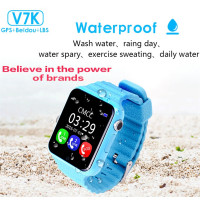 Children GPS Tracker Smart Watch V7K 1 54 With Camera Facebook Kids SOS Emergency Security Anti
