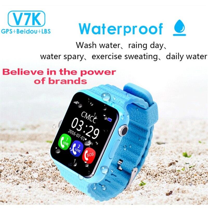 imágenes para HESTIA Niños GPS Reloj Inteligente V7K 1.54 ''Con Cámara Facebook SOS de Emergencia de Seguridad Anti-Perdido Para Android Reloj PK Q90 Q50
