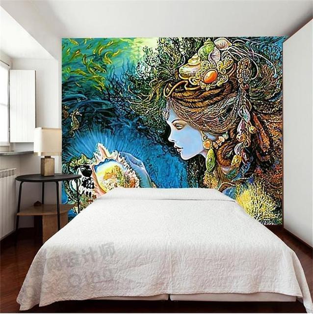 3D Wallpaper Custom Photo HD Mural Fairy Tale Modern Aesthetic Kids Room