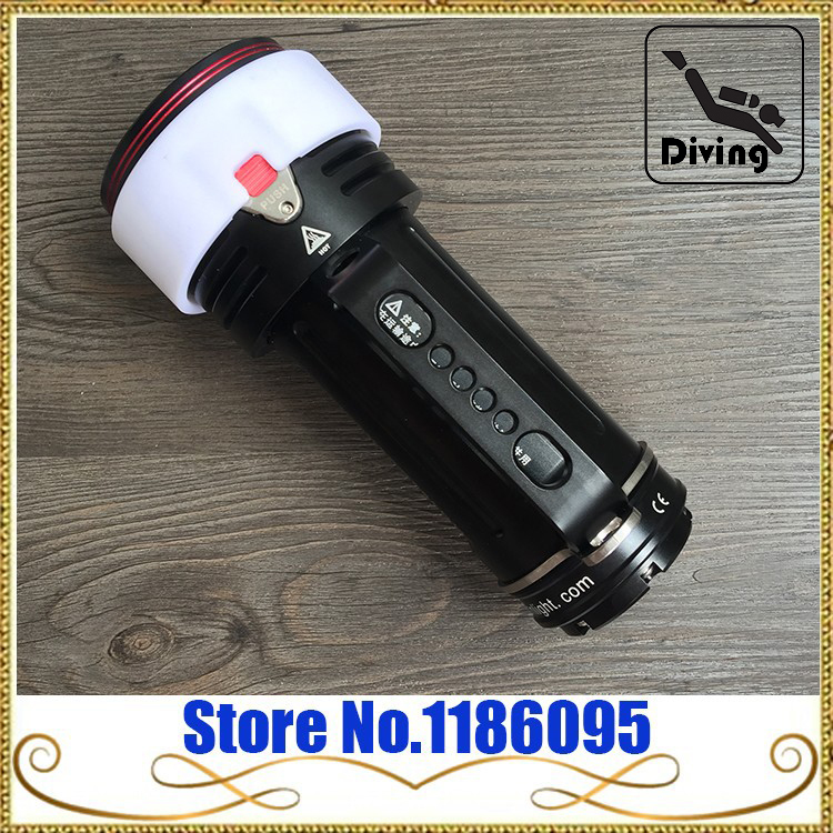 New Arrival  Goodman Handle Diving Light XM-L2 LED 6500lm 200M waterproof underwater Rechargeable Dive Torch georgina goodman georgina goodman туфли женские lucy