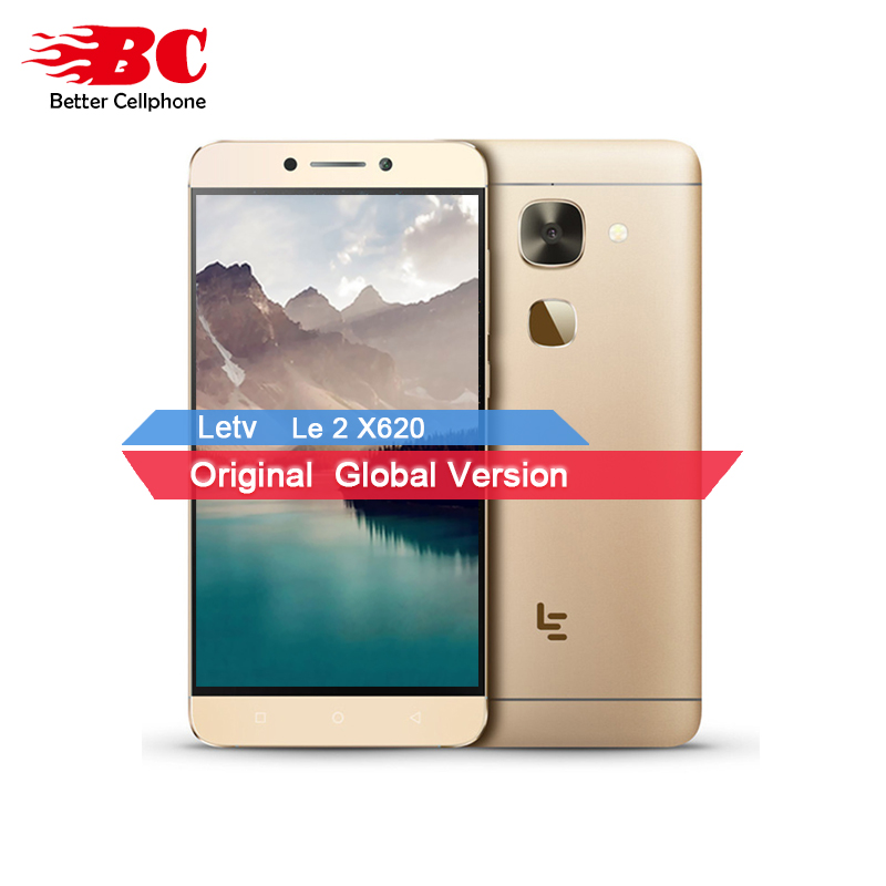 Original New Letv LeEco Le 2 X620 3GB RAM 32GB ROM MTK Helio X20 Deca Core Mobile Phone 5.5 inch 1920x1080 16MP Fingerprint ID