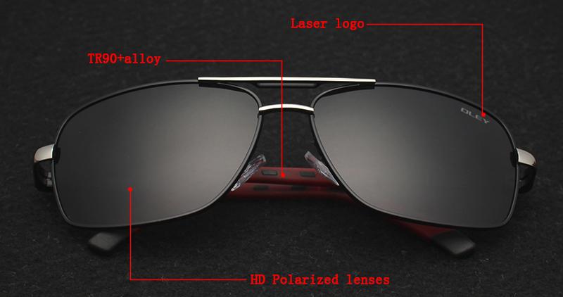 HTB195HoRFXXXXbHXpXXq6xXFXXXd - OLEY Brand Polarized Sunglasses Men New Fashion Eyes Protect Sun Glasses With Accessories Unisex driving goggles oculos de sol