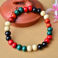 European and American natural stone combination beaded bracelet hand woven energy stone bracelet