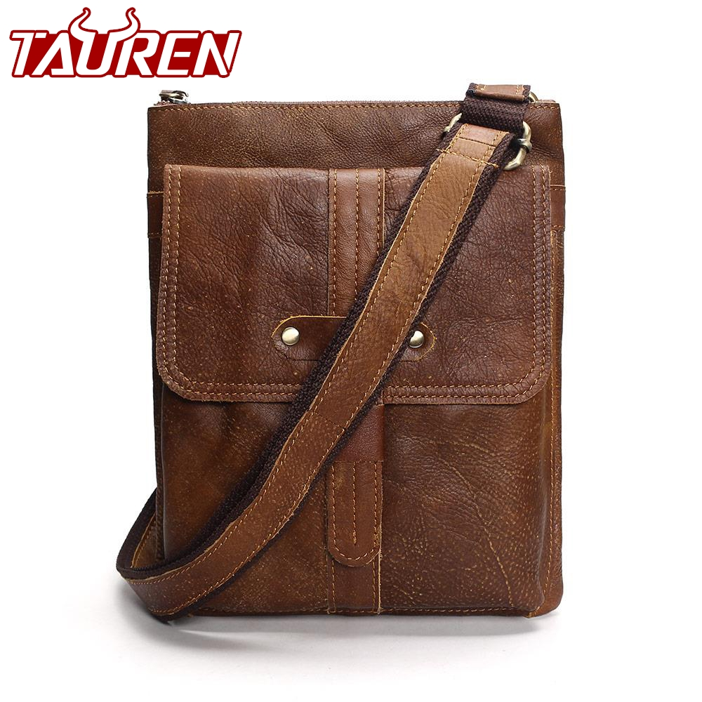 New Arrivals Genuine Leather Bag Men Bags Men Messenger Bags Male Small Flap Vintage Leather Shoulder Crossbody Bags For Man цена