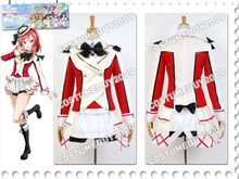 LoveLive! School Idol Project Maki Nishikino Uniform Jacket Skirt Shirt Anime Halloween Cosplay Costumes For Women Custom Made