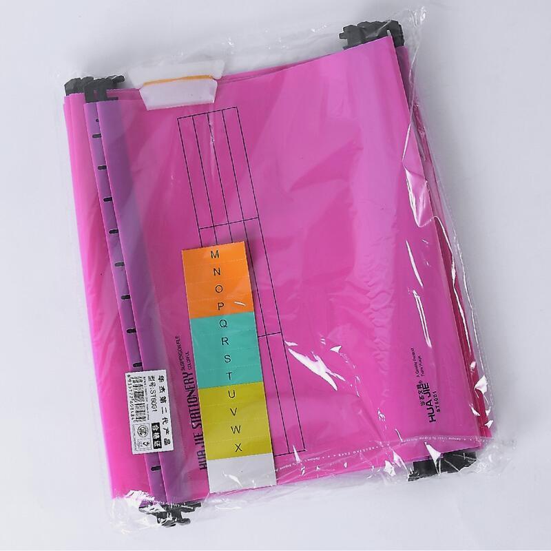 В виде бабочек, новинка, 12 шт./упак. A4 Экстра Ёмкость усиленный подвесных папок быстро подвесной зажим категория теги быстро найти для Бизнес для офиса - Цвет: Розовый