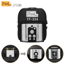 Pixel TF 334 Heißer Schuh Adapter für Nikon Canon und Sony Neue Multi Interface Kamera A7 NEX6 A6300 A6000 a3000 A99 A77II