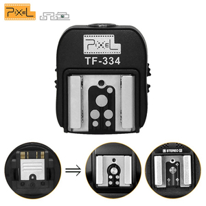 Image 1 - Pixel TF 334 Hot Shoe Adapter Converter For Sony A7 A7S A7SII A7R A7RII A7II NEX6 RX1 RX1R RX10 RX100II Mi Camera to Canon Nikon