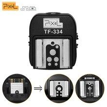 ピクセル TF 334 ホットシューアダプターニコンキヤノンフラッシュとソニー新マルチインタフェースカメラ A7 NEX6 A6300 A6000 a3000 A99 A77II