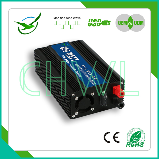 US $67 91  FULL POWER 800w 12v 24v to 220v 50hz 110v 60hz Motor converter  Modified Sine Wave Inverter FREE SHIPPING-in Inverters & Converters from