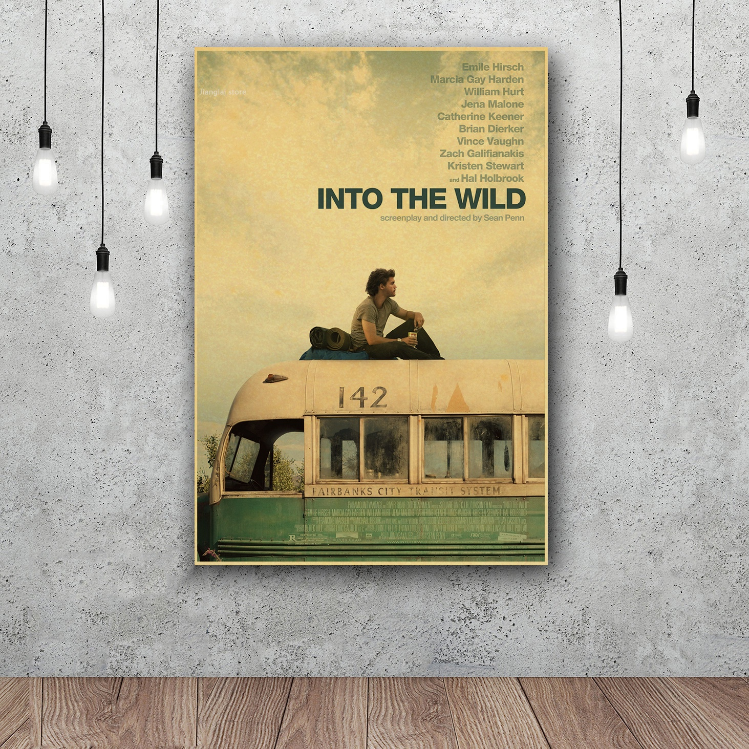 Into the Wild Art Silk Fabric Poster Wall Decor 12x18 24x36Inch-in ...
