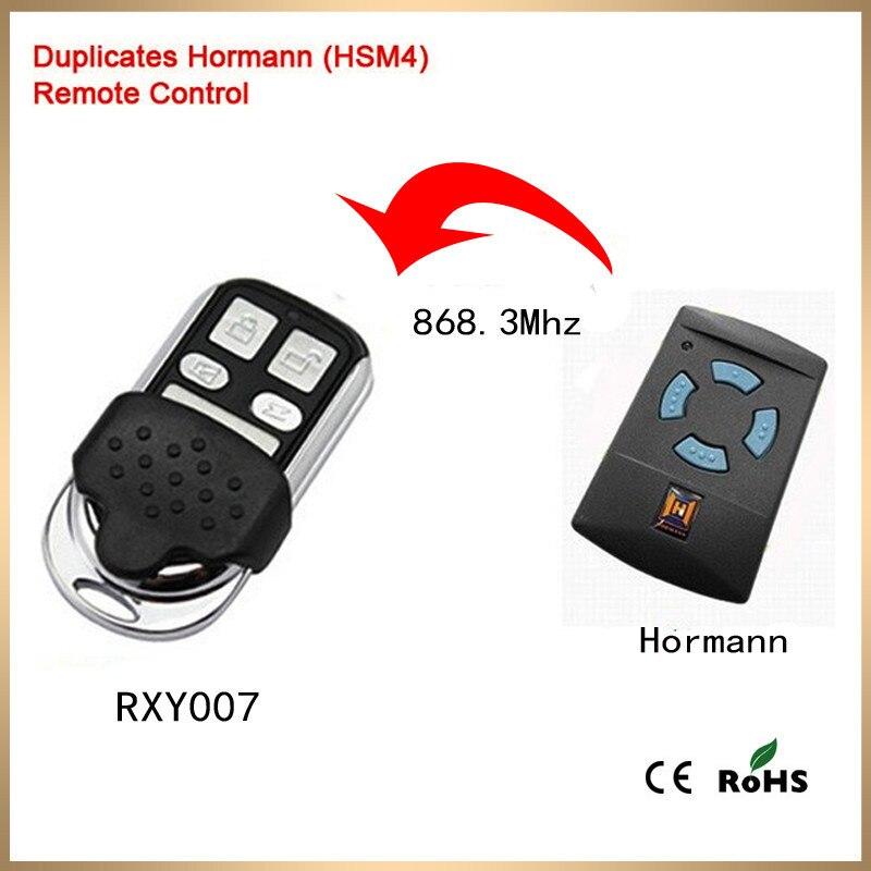 Duplicateur HSE2-HSM4 Hormann télécommande porte de garage porte-clés 868 MHz boutons bleus