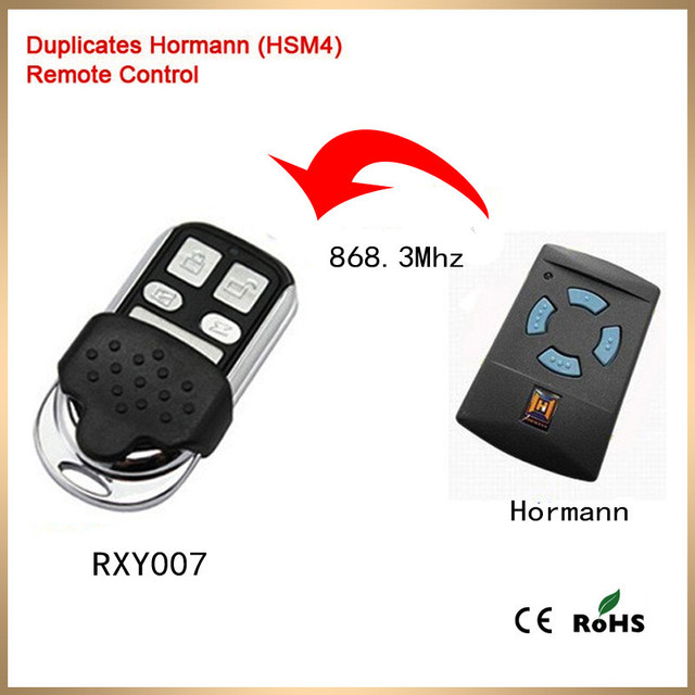 Aliexpress Buy Duplicator Hse2 Hsm4 Hormann Garage Door Remote