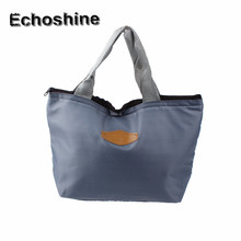 New Portable Thermal Insulated Cooler Waterproof Lunch Picnic Tote Storage Carry Bag Tote Lunch Bag For Women Home Free Shipping