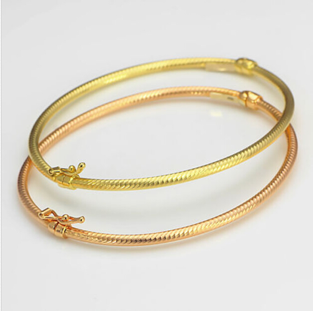 c bangles gold bangle bracelet yellow d solid