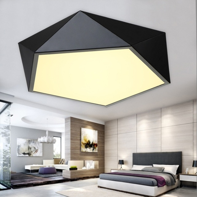 Modern minimalist led ceiling light geometry creative home modern minimalist led ceiling light geometry creative home commercial lighting ceiling lamp mozeypictures Image collections