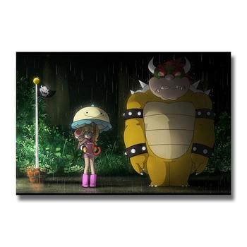 Плакат гобелен Супер Марио Galaxy 2 Шелк