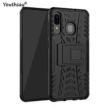 For Samsung Galaxy A30 Case 6.4 Heavy Duty Hard Rubber Capa Fundas Phone Cover for case