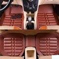 Auto auto teppich fuß boden matten Für volkswangen polo limousine touran 2005 vw passat b5 golf 6 sharan auto matten Auto-Anti-Schmutz-Pad    -