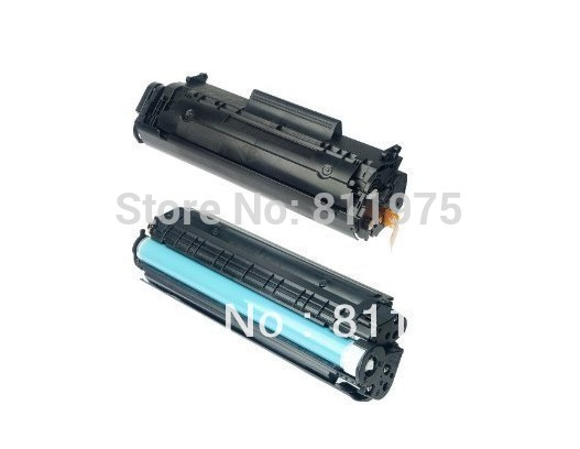 Q2612A 12a 2612A 2612 12 toner cartridge Untuk HP LaserJet 1010 1012 1015 1018 1020 1022 3010 3015 3020 3030 3050 3052 (2500 Pages