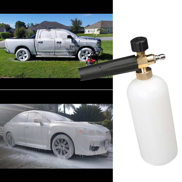 Foam Cannon Soap >> Pressure Washer Snow Foam Lance Foam Cannon Car Power Washer Soap