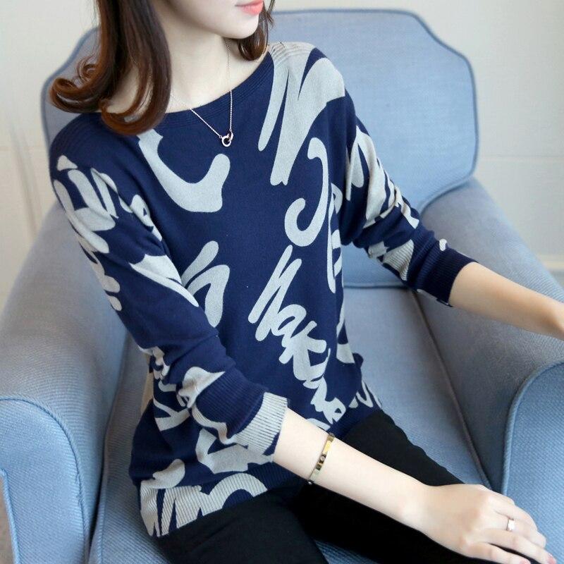 Collar suéter de punto flojo camuflaje BianFuShan nueva primavera y el verano 20