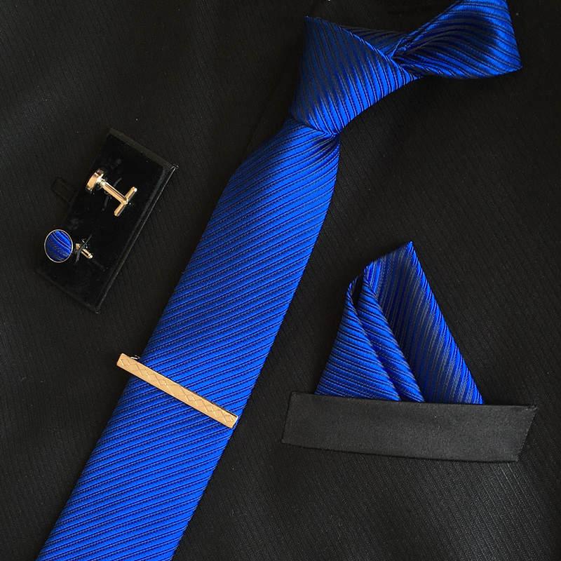 SHENNAIWEI manar 8cm mode märke lyxiga slipsar fyrkantiga bröllop - Kläder tillbehör - Foto 3
