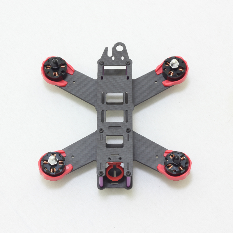 QAV180 Carbon Fiber RC FPV Mini Quadcopter 180mm 4-Axis Frame Quad DIY Mini Drone with Landing Gear Motor Protecter zmr250 250mm carbon fiber 4 axis 250 mm fpv quadcopter mini h quad frame for qav250