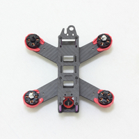 QAV180 Carbon Fiber RC FPV Mini Quadcopter 180mm 4 Axis Frame Quad DIY Mini Drone with Landing Gear Motor Protecter