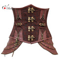 2016 Corpetes E Espartilhos Sexy Steel Boned Waist Trainer Corset Steampunk Gothic Sexy Corset Lingerie Corselet Overbust