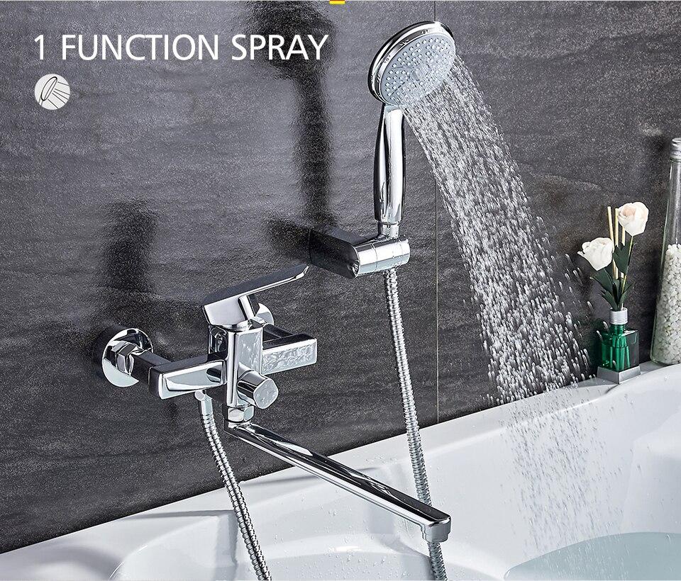 Ledeme Shower Faucet Set Bathroom Br