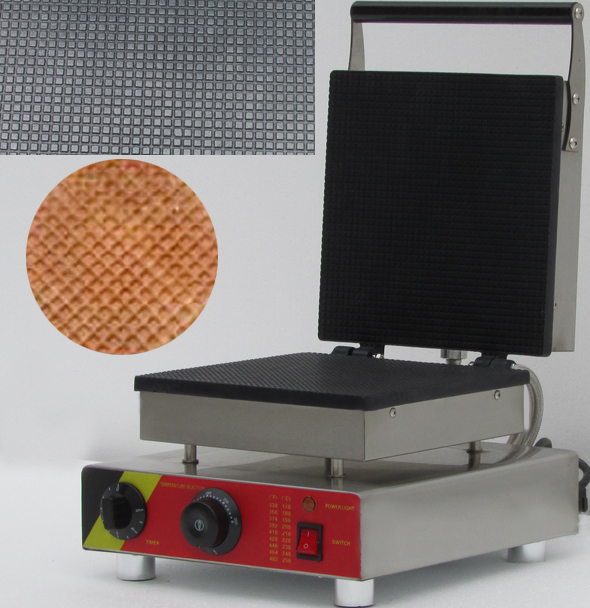 electric square shaped electric egg roll waffle maker ice cream waffle cone makerchina