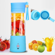 Mini Portable Electric Fruit Juicer Machine USB Rechargeable Smoothie Maker Blender Shake And Take Juice Slow Juicer