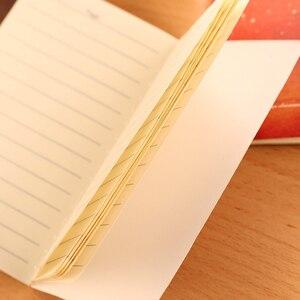 Image 3 - 40 قطعة/الوحدة جديد جميل الرياح سيارة خط مذكرات دفتر الطلاب القرطاسية 80k القرطاسية الكورية بالجملة