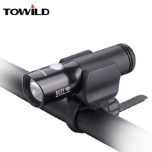 TOWILD Bicycle bike Headlight Waterproof 1100 Lumens MTB Cycling Flash Light Front LED Torch Power bank accessories
