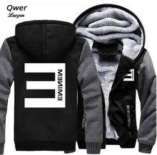 Tamaño de EE. UU. para sudaderas con capucha hombres mujeres hip-hop Eminem fe4f4582bde