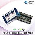 Roland fj740 xj740 sp/vp 540 принтер THK SSR-15XW блок слайдера/линейные направляющие блоки/железнодорожные блоки запасные части для струйного принтера