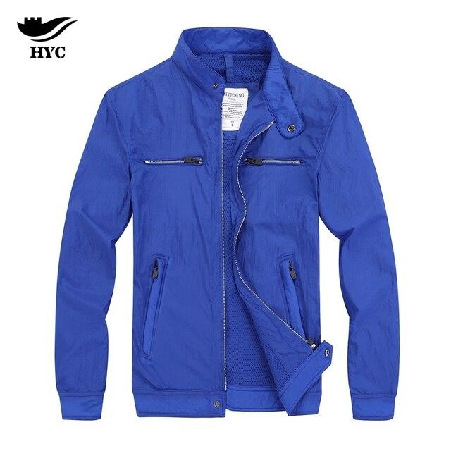 b7029644832 HAI YU CHENG мужская куртка осень весна мужские куртки 2018 Новые  поступления мужские пальто Мужская куртка